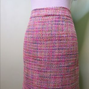 ABS by Allen Bright Woven Size 12 Pencil Skirt